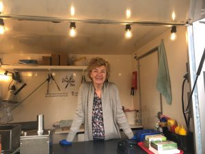 Ingrid in Foodtruck